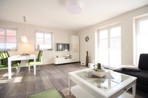 Wohnzimmer - Ferienhaus Meeresrauschen in St. Peter Ording