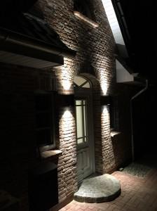 Außenansicht bei Nacht - Ferienhaus Meeresrauschen in St. Peter Ording