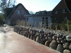Garten - Ferienhaus Meeresrauschen in St. Peter Ording